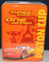 Walt Disney's Cars Large Illustrated Rectangle Storage Box Tin, NEW UNUSED - $17.41