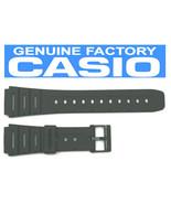 CASIO CA-53W 20mm Black Rubber Watch BAND CA-61W W-520 W-720 W-722 W-741 WL-100 - $16.15