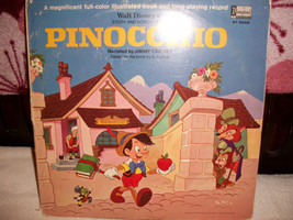 """Vintage Walt Disney's story & Songs from """"PINOCCHIO"""" 1969 - $25.00"""