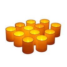 Furora LIGHTING Flameless LED Votives Candles Battery Operated (Pack of 12) - $18.30