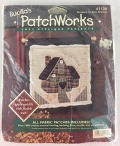 Bucillas Patchworks Applique Kit 41130 Welcome Home House 8x8 NEW Wall Hanging - $11.83