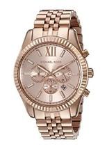 Michael Kors MK8319 Lexington Rose Gold Men's Watch - $168.27