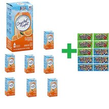 Crystal Light On The Go Classic Orange Drink Mix 10 CT (Pack of 8) + 10 ... - $74.10