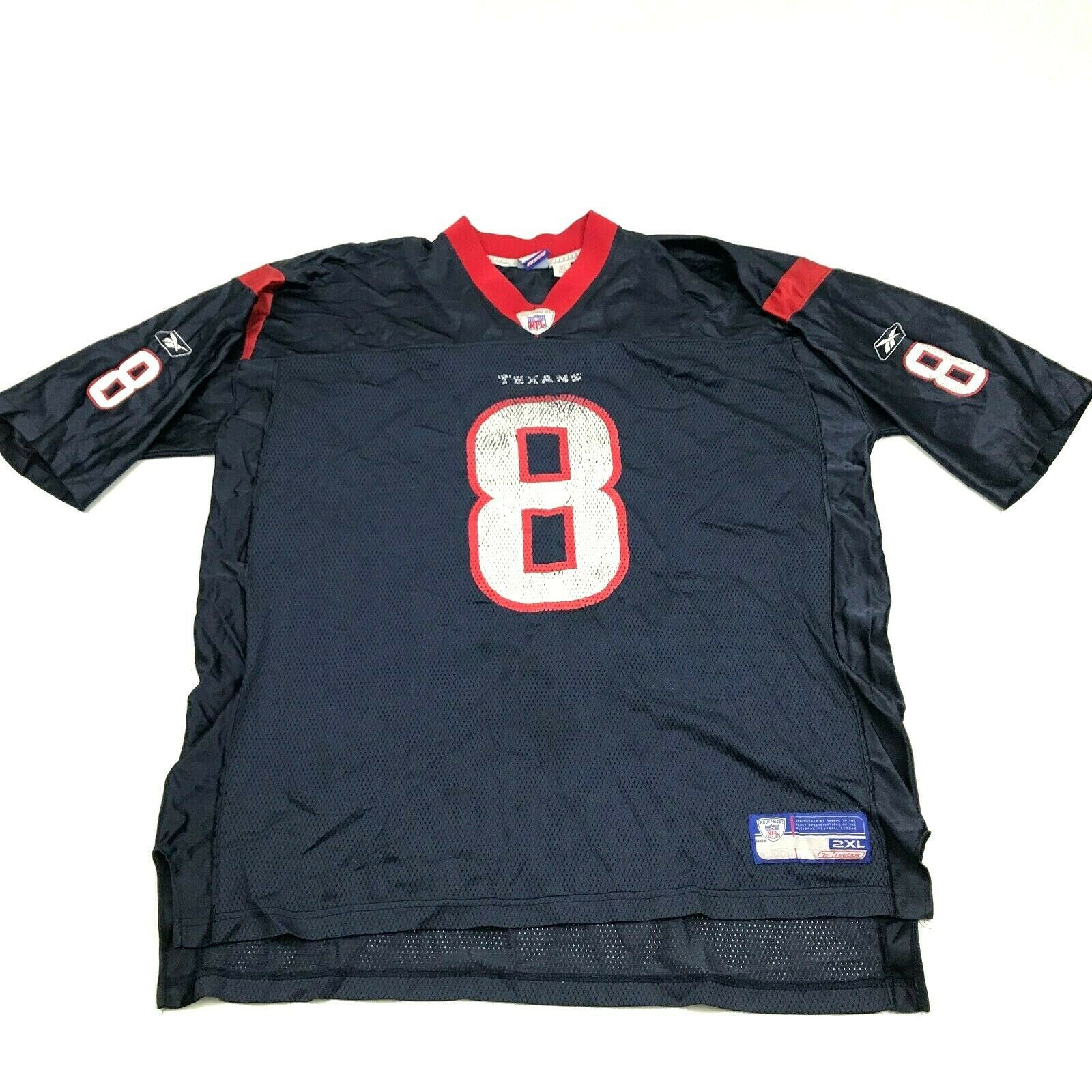 Primary image for Vintage Reebok David Carr Houston Texans Football Jersey Homme Taille 2XL XXL