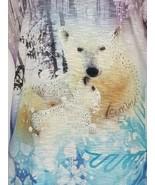 SeaWorld Womens Junior Polar Bear Graphic T-Shirt Size Large - $19.99