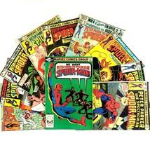 Spectacular Spider-Man Comic Book Lot 10 Issues Marvel Bronze Age Cloak & Dagger - $19.75