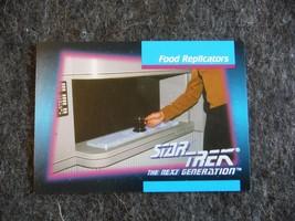 Star Trek Next Generation 1992 Impel Trading Card # 60 Food Replicators - $0.95