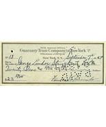 President Franklin D. Roosevelt Signed Bank Check BAS LOA - $2,276.99