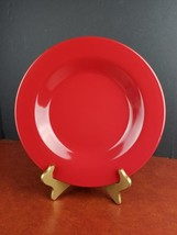 """Milano soup pasta bowl Tabletops Lifestyles red 11.25"""" dinnerware kitche... - $17.77"""