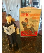VTG KAMAR JFK & Rocking Chair Music Box Rare Japan 1963 John Kennedy DOE... - $311.75