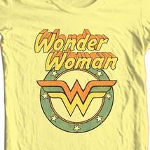 Wonder Woman logo T-shirt retro TV old style Bronze Age Age 100% cotton DCO607 image 1