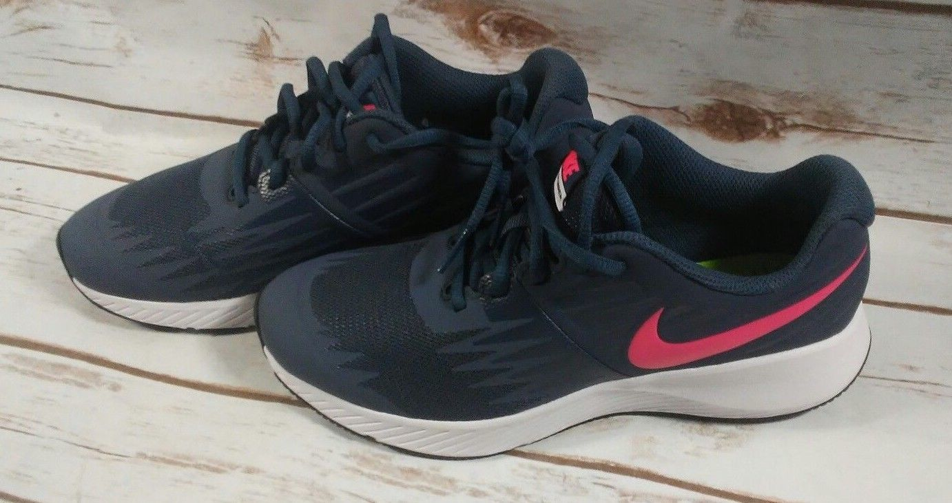 db02201ff13 Nike Star Runner GS Black Racer Pink Kids and similar items. S l1600