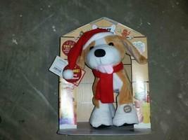 "12"" Barney Christmas Beagle Chantilly Lane Musical Animated Dog NOSWT - $49.99"