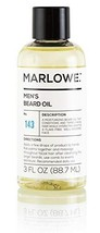 MARLOWE. Beard Oil Conditioner for Men No. 143 | Softer & Fuller Beard Care | La image 1