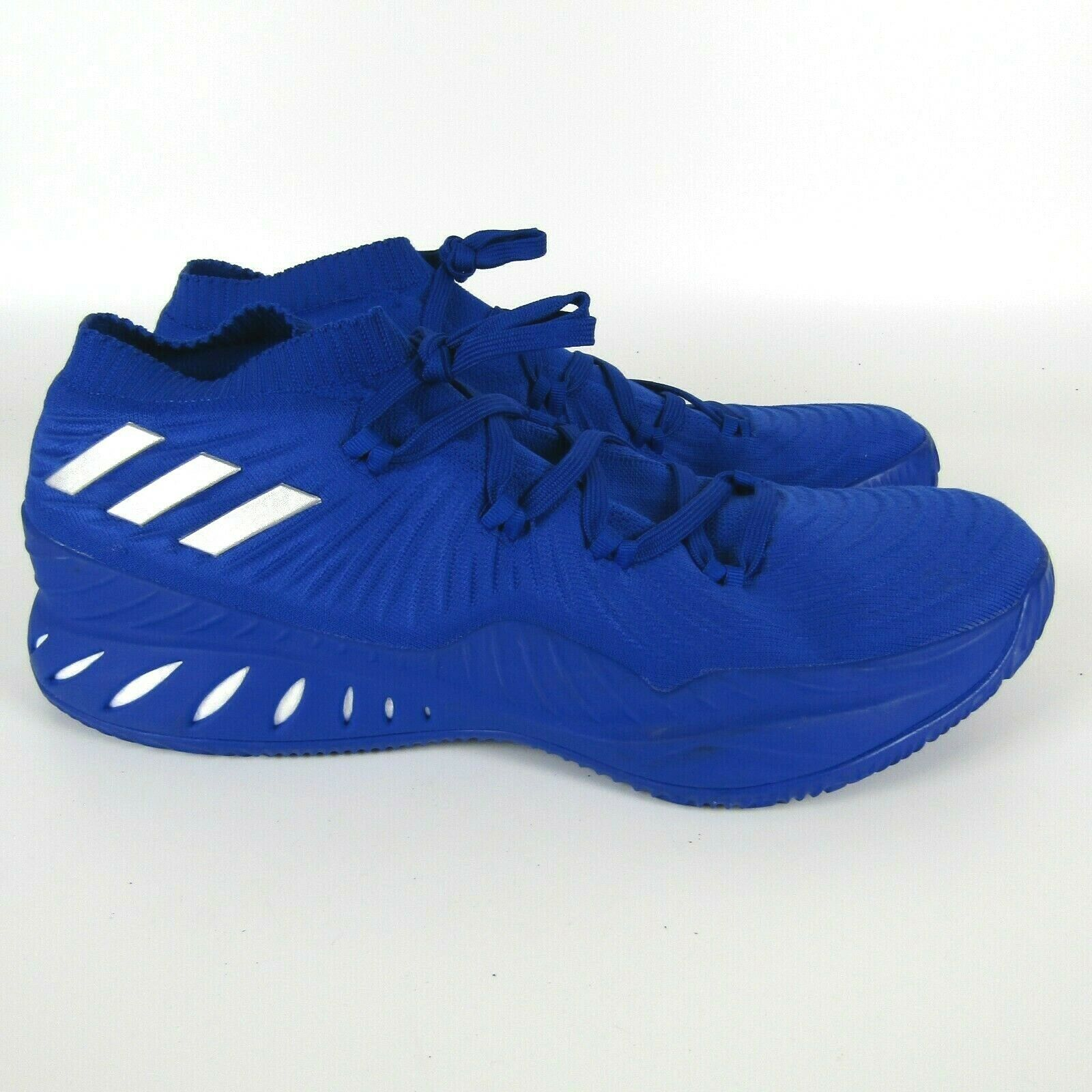 Adidas Crazy Explosive 2017 Low Basketball Shoe Blue White Men's Size 17  B75922