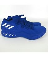 Adidas Crazy Explosive 2017 Low Basketball Shoe Blue White Men's Size 17... - $64.23