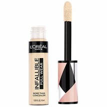 L'Oreal Paris Cosmetics Infallible Full Wear Concealer, Eggshell, 0.33 F... - $9.17