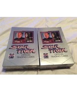 2 Box 1991 Star Trek 25th Anniversary Official Trading Cards Box 36 Pack... - $62.95