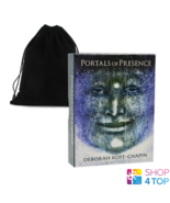 PORTALS OF PRESENCE CARDS AND BAG US GAMES SYSTEMS DECK AUDIO KOFF CHAPI... - $47.41