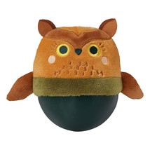 Manhattan Toy Wobbly Bobbly Owl Weighted, Soft Silicone Wobble Ball Wi - $39.99