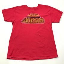 Tucson Arizona Shirt Size Medium Red Southwestern Graphic Tee Adult Shor... - $14.03