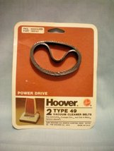 Hoover Power Drive Type 49 Vacuum Cleaner Belts -- Fits Hoover Concept One and D - $9.20