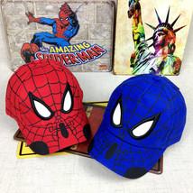 Kid Toddler Children Boy Girl Spiderman Peaked Snapback Hat Baseball Cap Hip-Hop image 2