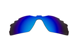 Polarized Replacement Lenses for Oakley Radar Pitch Sunglasses Vented Blue - $10.88
