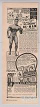 GEORGE F. JOWETT bodybuilder '40s PRINT AD strongman All-Around He-Man 1949 - $9.74