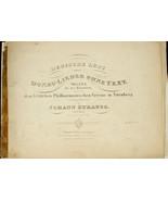 Antique 1841 Johann Strauss - Deutsche Lust Waltz First Edition Music Sc... - $224.99