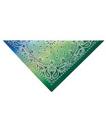 """Ombre Paisley Bandanas Classic Look Cotton 22"""" Choose From 6 Color Fade ... - $9.59"""
