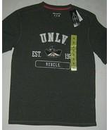 UNLV Las Vegas Ladies T-Shirt Rebels Champion Short Sleeve Shirt Gray Si... - $9.85