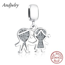 925 Sterling Silver Fit Pandora Charms Bracelets Original Beads Boy Girl... - $26.45