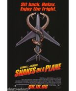 2006 SNAKES ON A PLANE 2 Sided Movie Poster 11x17 Motion Picture Promo 2... - $7.99