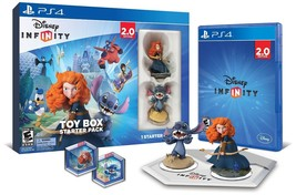 SEALED Disney Infinity Toy Box Starter Pack 2.0 Edition PlayStation 4 PS... - $13.72