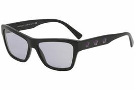 Versace Damen VE4344 Ve / 4344 GB1/1A Schwarz Mode Katzenaugen Sonnenbrille 56mm - $405.90