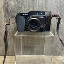 Vintage Canon Sure Shot Tele QD Quartz  Date 35mm Autofocus Camera Tested - $65.00