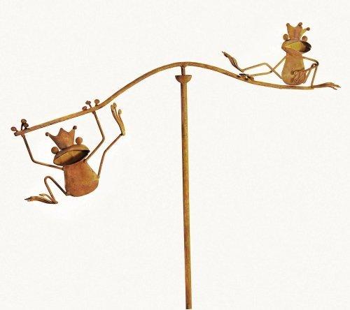 Red Carpet Studios Balancing Buddies Large Yard Art Frogs