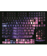 Keyboard stickers Space Decal Decoration Protector Cosmos PC & Laptop - $13.97