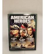 American Heroes Collection (DVD, 2006, 3-Disc Set) Wayne McQueen Holden - $8.45