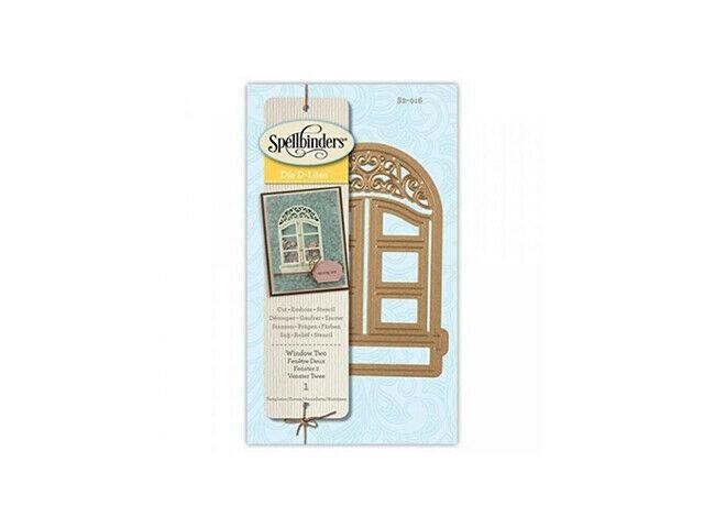 Spellbinders Die D-Lites Window Two Die Set #S2-016