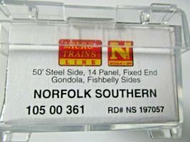 Micro-Trains # 10500361 Norfolk Southern 50' Steel Gondola w/Load N-Scale image 6
