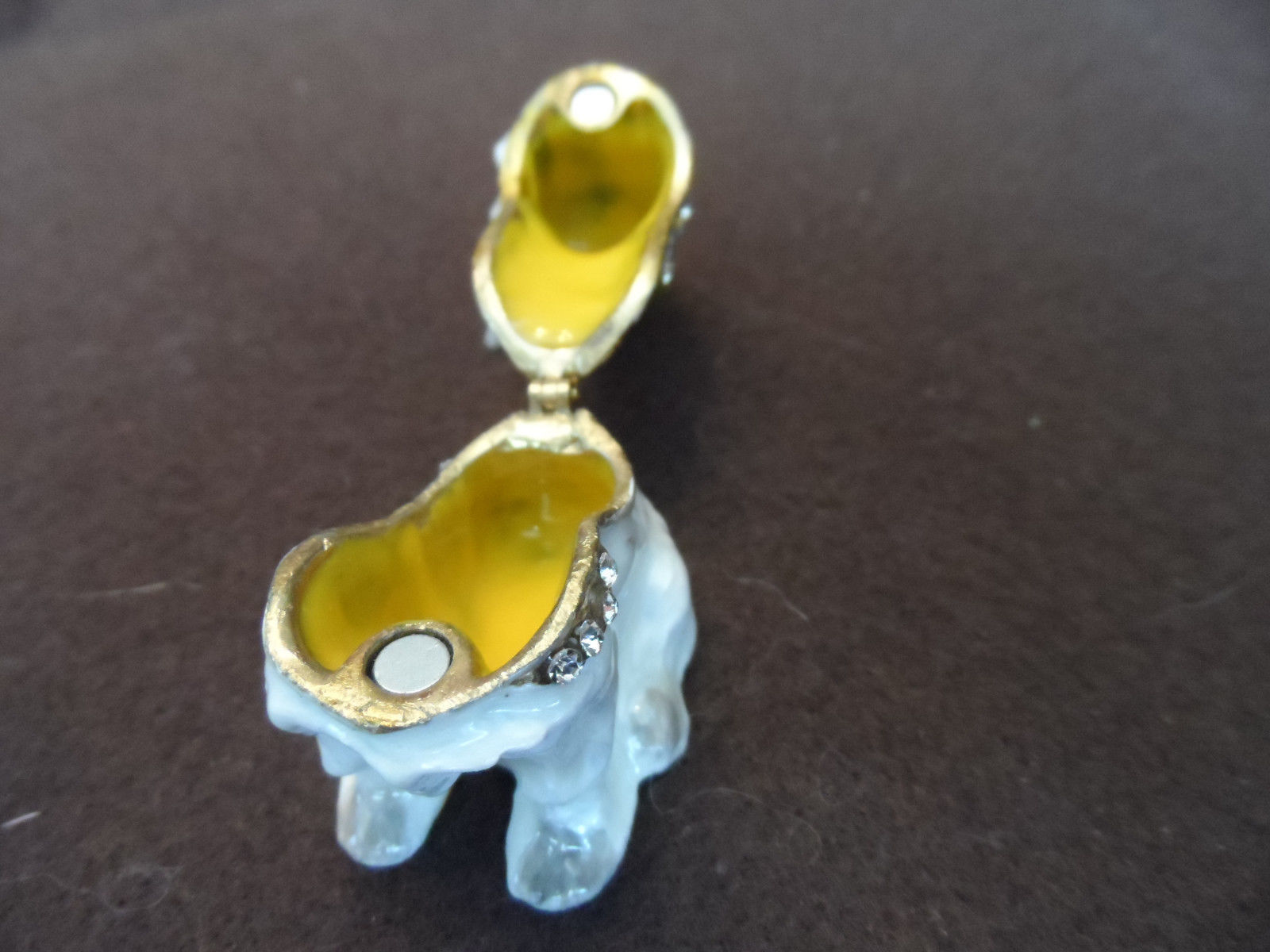 New metal hinged, jeweled trinket box - choice image 14