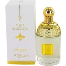 Guerlain  Aqua Allegoria Tiare Mimosa Perfume 4.2 Oz Eau De Toilette Spray image 4