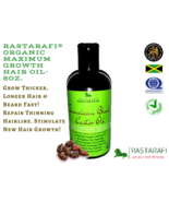 Rastarafi® Premium Beard Oil 8 Oz | Fast Beard Growth - $16.95