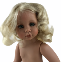 "Linda Rick The Doll Maker Short Pale Blonde Wig To Fit 21"" Once Upon A T... - $20.42"