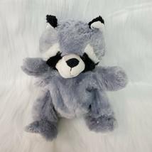 "10"" Kellytoy Gray Raccoon Plush Hand Puppet Soft Stuffed Animal Toy B215 - $12.99"