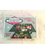 Mini Genuine Casino Set Poker & Blackjack—New in Box— Great For Vegas Pa... - $6.92