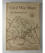 CIVIL WAR MAPS: AN ANNOTATED LIST 1961 Library of Congress Collection - $17.90