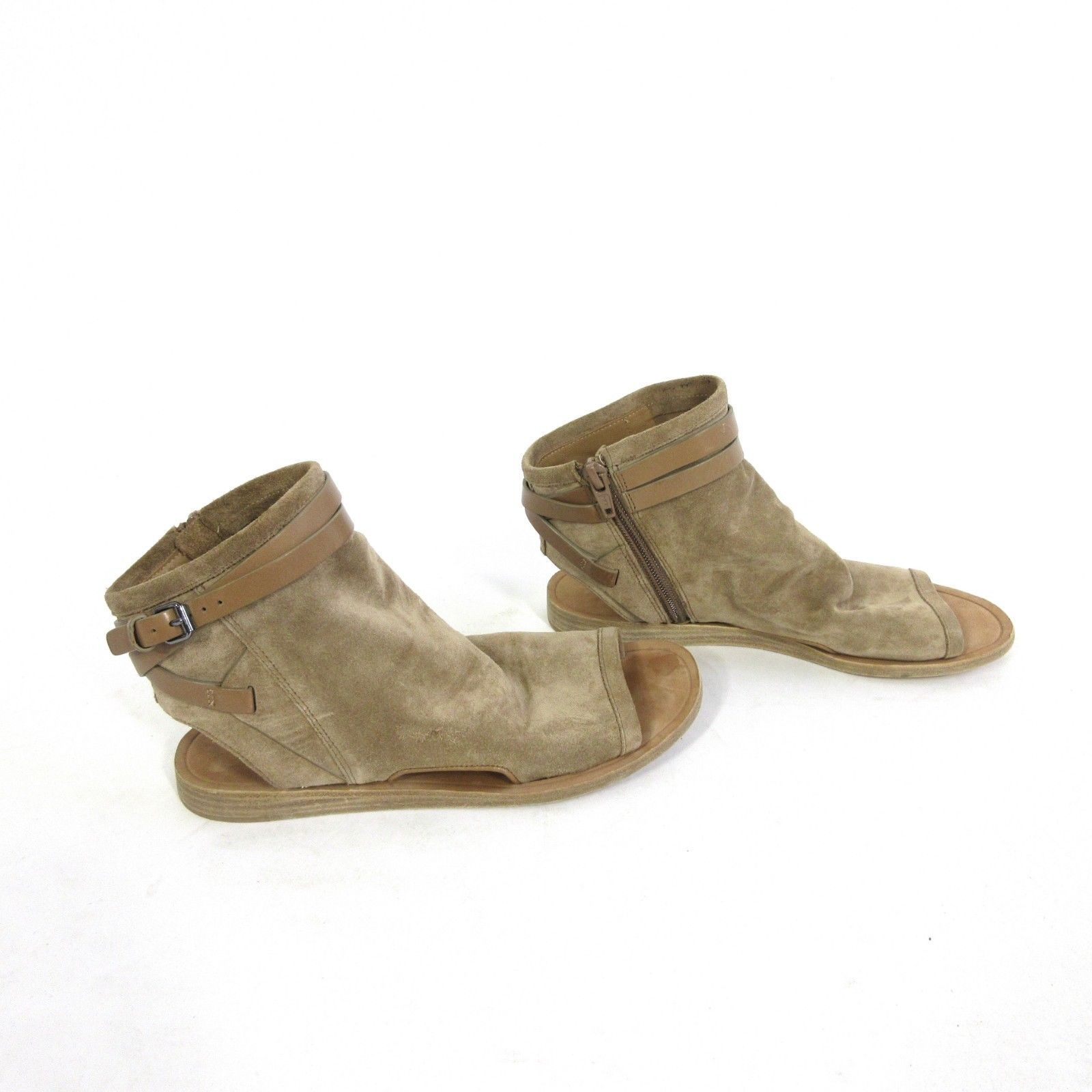 8ccdf35013c 6 - VINCE Tan Suede Leather Slouchy $295 and 35 similar items